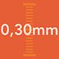 0.30 mm
